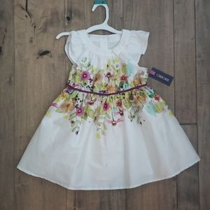 Girls 4T Floral Dress NEW with Tags